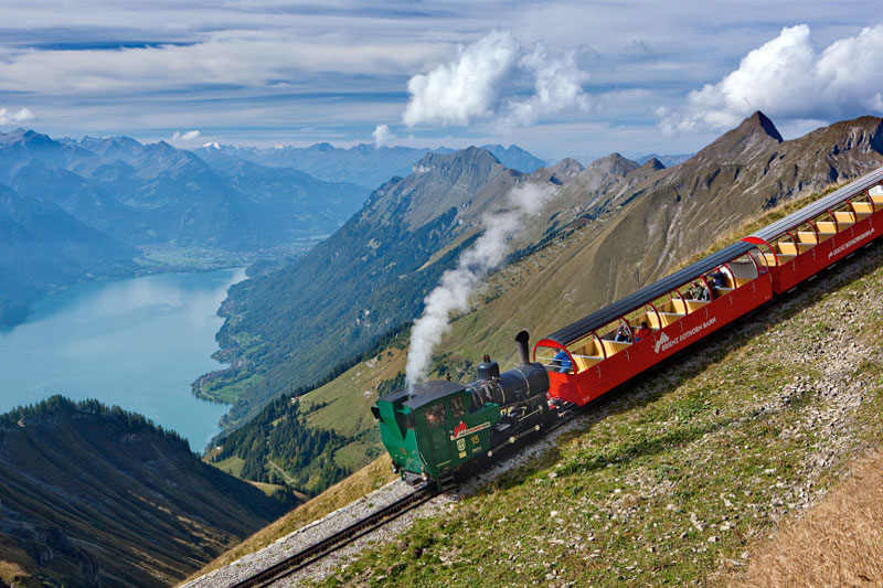 Brienzer Rothorn steam train